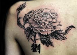 chrysanthemum tattoo on back body japanese chrysanthemum flower