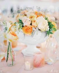 decorations flower arrangements with candles totally chic