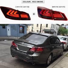 lexus lights for honda city for 2013 2015 honda accord tail lights 4 door sedan led brake red