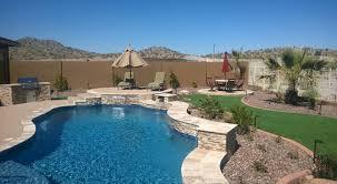 Backyard Swimming Pool Designs Arizona Pool Builder Pool Builders In Surprise Az