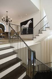 Stair Banisters Railings Best 25 Indoor Stair Railing Ideas On Pinterest Stair Case