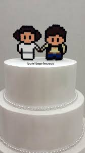 wars wedding cake topper wedding cake topper wars burrito princess