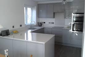high gloss acrylic grey custom modern kitchen cabinet ideasidea