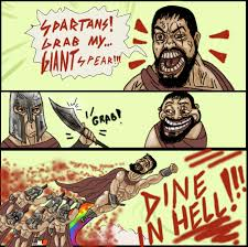 This Is Sparta Meme - 300 spartans grab my meme by foreverzerodragon on deviantart