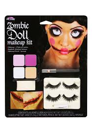 Halloween Eye Makeup Kits by Zombie Doll Makeup