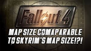 Fallout New Vegas Map Size by Fallout 4 Map Size Comparable To Skyrim U0027s Youtube