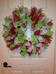 curly mesh wreath mesh wreaths mesh and
