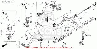 wiring schematic 86 honda cr125 honda motorcycle wiring diagram