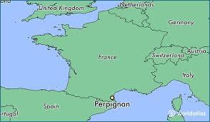 map of perpignan region where is perpignan perpignan languedoc roussillon map