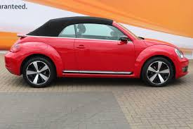 find a used red vw beetle cabriolet sport 2 0 tdi 140 ps 6 speed
