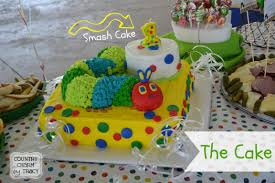 the very hungry caterpillar party thecake