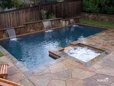 Swimming Pool Ideas For Small Backyards Cinder Block Inground Pools Crystal Pools Inground Concrete