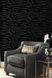 hautelook home decor zebbie black zebra print wallpaper by wallpops on hautelook