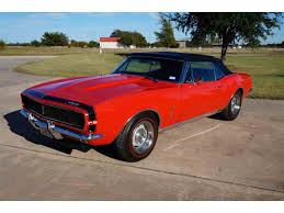 1967 camaro convertible for sale 1967 chevrolet camaro for sale on classiccars com 156 available