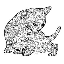 cat coloring pages images realistic cat coloring pages simploos co