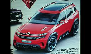 new citroen aircross concept revealed in leaked image