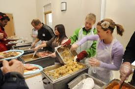 annual thanksgiving meal brings volunteers steamboat community