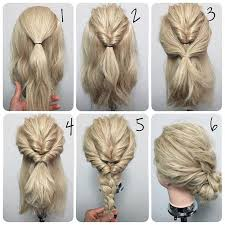 prom updo instructions easy twist prom wedding hairstyle event hairstyles pinterest