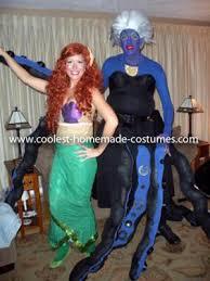 Mermaid Halloween Costume Ursula Sea Witch Mermaid Halloween Town