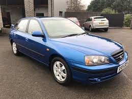 hyundai elantra cdx 2 0 diesel 5 door hatchback blue 2004 in