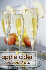 toast fall with apple cider mimosas savvy sassy moms