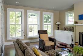 livingroom windows window trim ideas living room farmhouse with ceiling lighting
