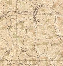 Washington County Pa Map by History Of The Francis Mine Burgettstown Francis Mine Smith Twp