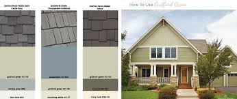 how to use guilford green on your exterior benjamin moore color of