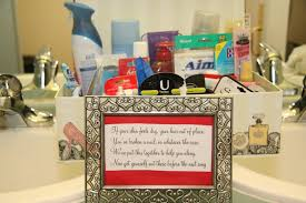 bathroom basket ideas what goes in bathroom baskets at weddings bathrooms cabinets