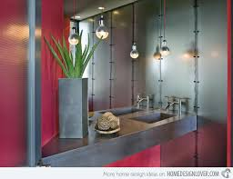 Gray And Red Bathroom Ideas - 15 stunningly red bathroom designs home design lover