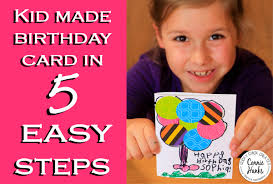kids making cards in 5 easy steps feeling crafty u2013 clicky