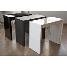 tavoli consolle allungabili prezzi tavolo consolle allungabile arcobaleno legno cm 110 design