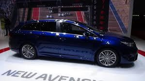 automobile toyota 2016 toyota avensis 2015 geneva motor show youtube