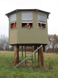 How To Make A Duck Blind Outrageous Hunting Stands And Blinds Outdoor Life