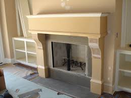 faux daddy designs faux limestone fireplace