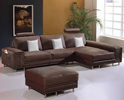Black Leather Sectional Sofa T957 U2013 Modern Black Leather Sectional Sofa Black Design Co