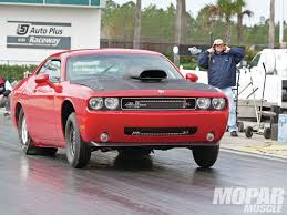 Dodge Challenger Drag Pack - street legal dodge challenger drag pack concept headed to 2009 sema