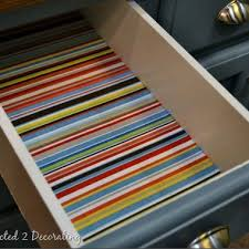 kitchen drawers ideas how to line drawers with fabric