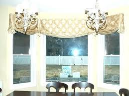 kitchen bay window treatment ideas bay window valance ideas londonart info