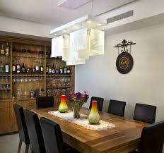 table pendant lighting brown laminated santos mahogany dining