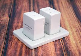 personalized salt and pepper shakers unique engagement bridal