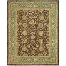Rugs In Home Depot Safavieh Antiquity Brown Green 9 Ft 6 In X 13 Ft 6 In Area Rug