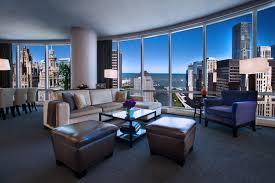 trump living room stylish elegance at trump international hotel u0026 tower chicago