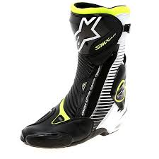 s quarter boots alpinestars s mx plus ce motorcycle race boots black white
