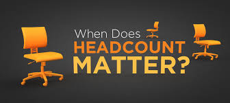 when does headcount matter for a service marketing agency