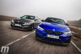 bmw m4 gts and m4 cs video review