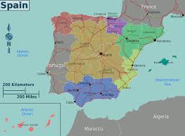 Map Of Valencia Spain by Maps Of Spain Worldofmaps Net Online Maps And Travel Information