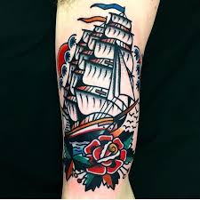 39 best classic ship tattoo images on pinterest ship tattoos