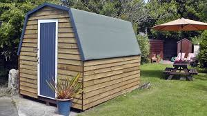 tiny house shed uk with gambrel roof aka the chicken coop youtube