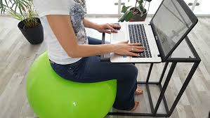 ballon chaise de bureau j ai troqué ma chaise de bureau contre un ballon